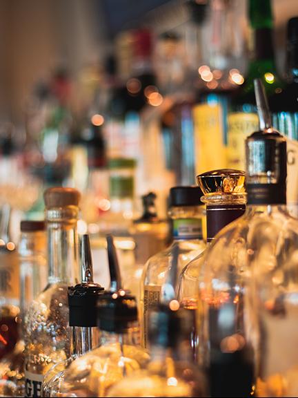 MoMo pizzeria bar liquor selection