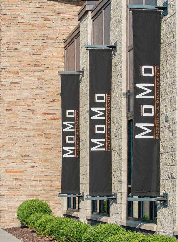 MoMo Pizzeria signage